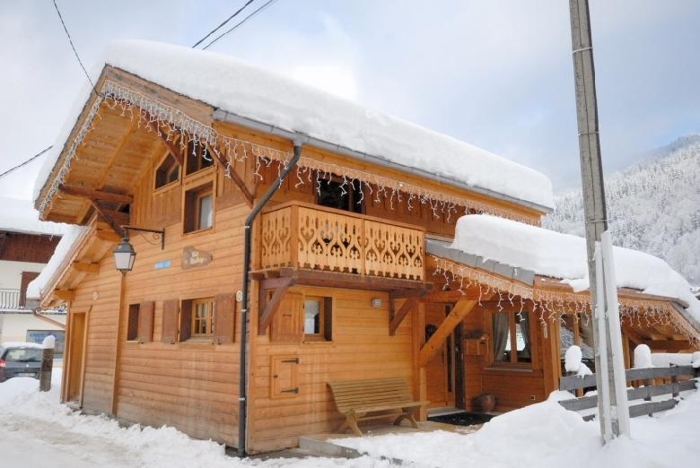 location chalet ski morzine